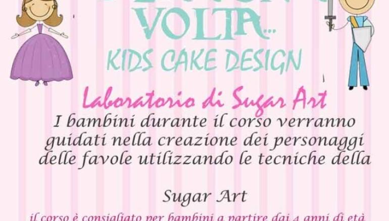 Laboratorio di Sugar Art: Kids Cake Design