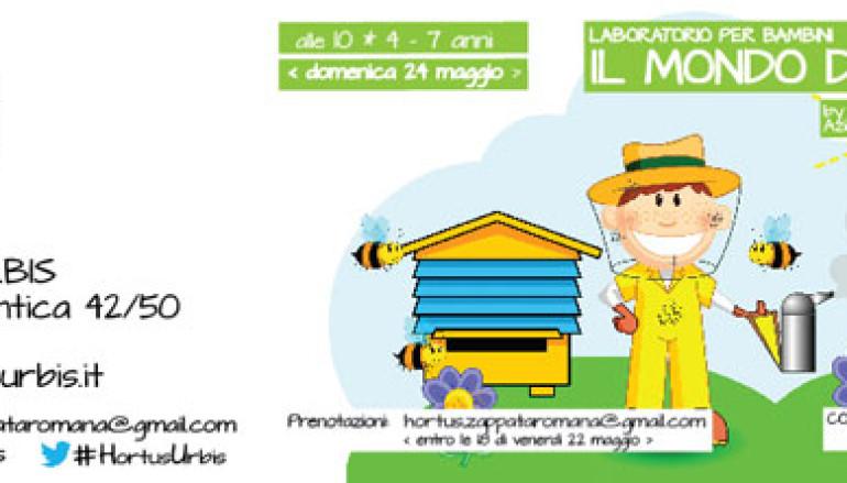 Il mondo delle api laboratorio didattico per bimbi da 4 a 7 anni