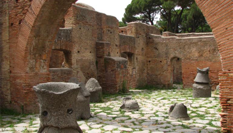 Gita in battello e Visita guidata per bambini a Ostia Antica