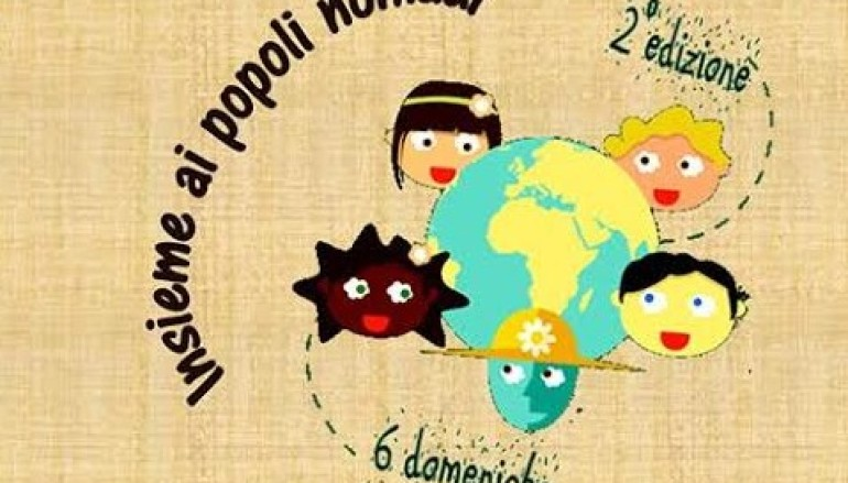 """""""Giro del Mondo insieme ai Popoli Nomadi"""" a Testaccio"""