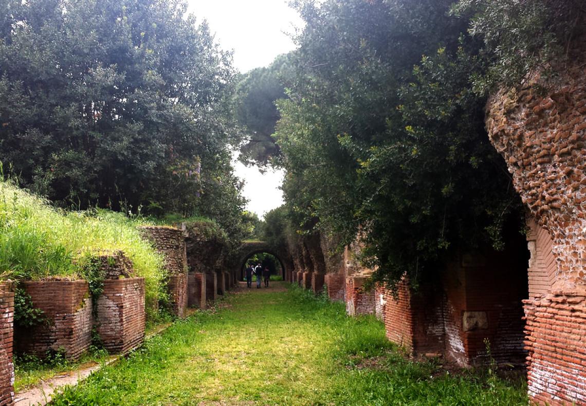 Bambini e famiglie alla scoperta dell'Area del Porto Di Traiano