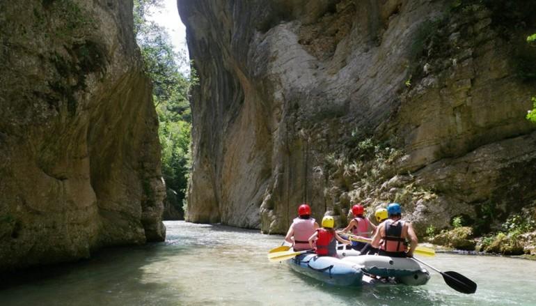 Rafting e Parco avventura sui Monti Sibillini a pochi km da Roma