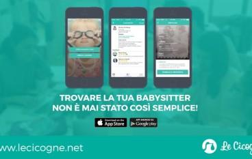 Le Cicogne la App per trovare una babysitter