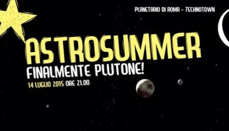 Plutone e la sonda New Horizons visibili al Planetario