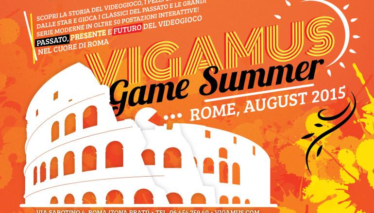 Estate romana del Videogioco al Museo Vigamus