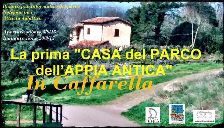 Casa del Parco vigna Cardinali alla Caffarella