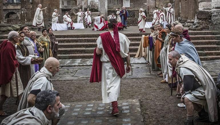 Rievocazione storica dell'Antica Roma al Parco dell'Appia