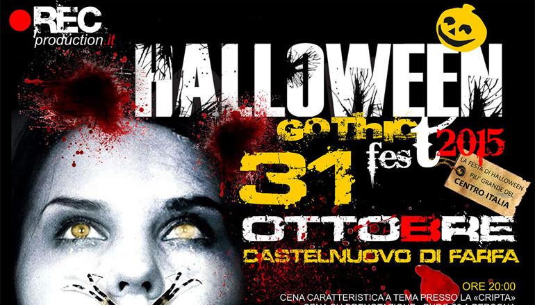 Halloween Gothic FEST 2015 a Castelnuovo di Farfa