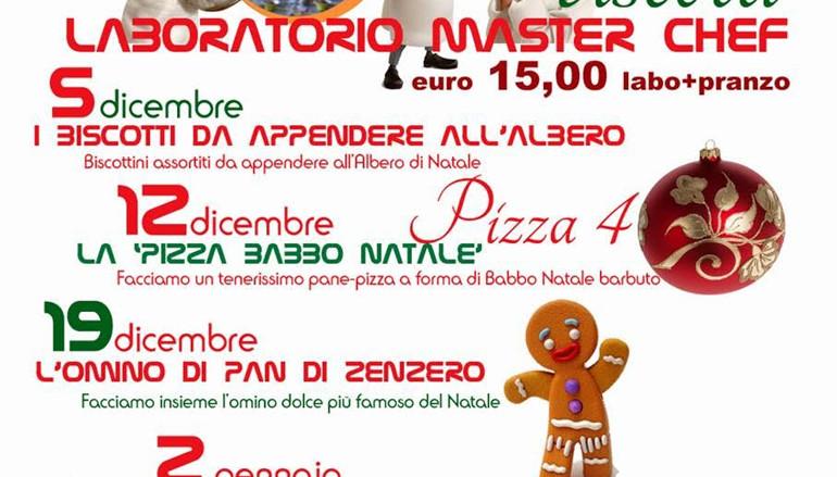 Laboratori di cucina Natalizi per bambini del Ristorante Bagnolo di Ostia