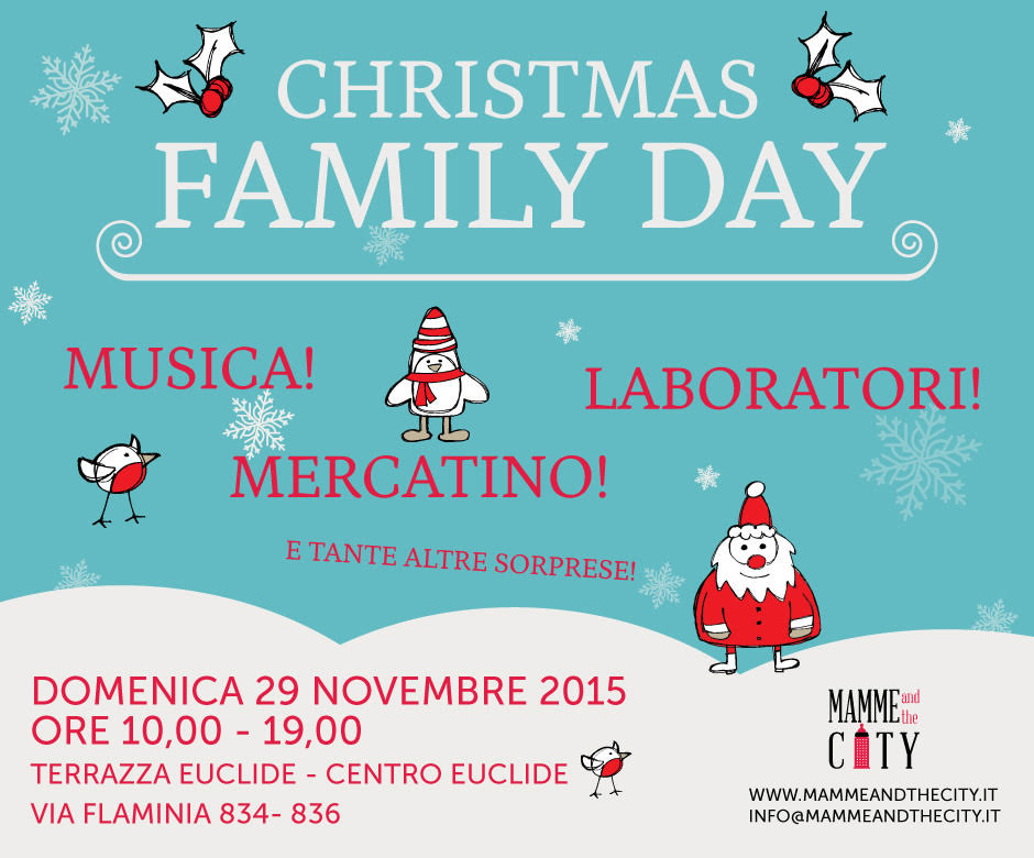 Christmas Family Day Al Centro Euclide Di Roma