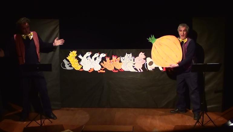 Canta la strocca spettacolo per bambini dai 3 anni al Furio Camillo