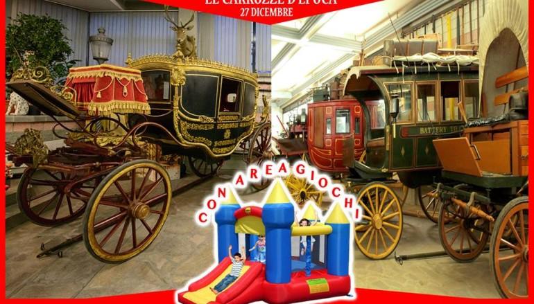 La Mostra di Carrozze d'Epoca gratuita per i bambini