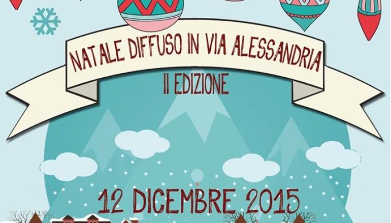 Natale Diffuso in Via Alessandria – II edizione