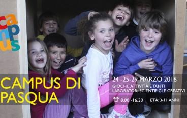 PASQUA AD EXPLORA: Campus e laboratori per bambini dal 24 al 29 Marzo