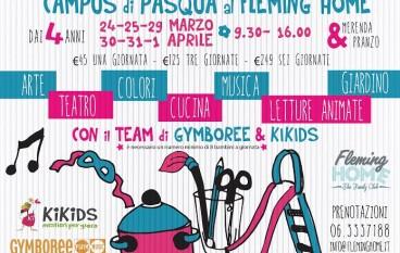 Campus di Pasqua per bambini dai 4 anni al Fleming Home