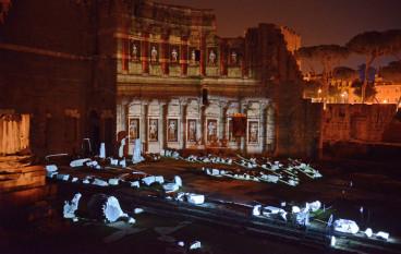 """Viaggi multimediali nell'antica Roma al """"Foro di Augusto"""" e al  """"Foro di Cesare"""""""