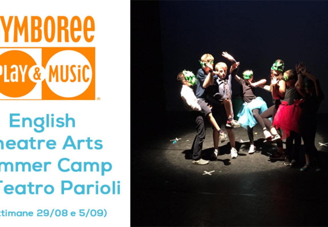 Corso di teatro e Inglese per bambini con Gymboree