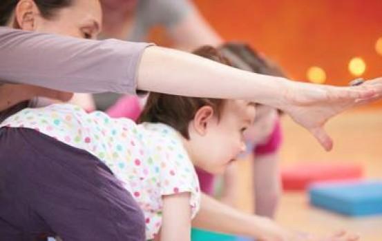 Corso di Yoga genitori bambini al quartiere Trieste