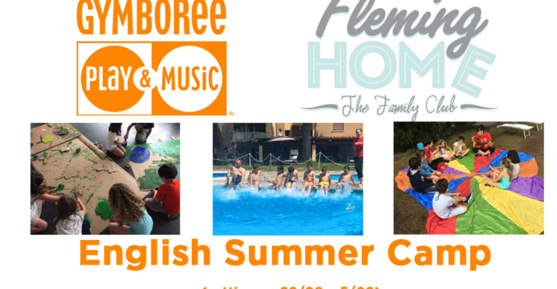 English summer camp per bambini da 3 a 9 anni