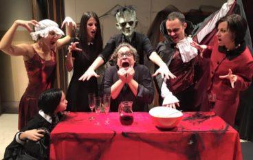 """Halloween a teatro con """"La Famiglia…Transylvania"""""""