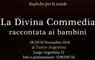 La divina Commedia spettacolo per le scuole