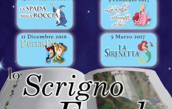 LO SCRIGNO DELLE FAVOLE Torna a Frascati la stagione teatrale per i più piccoli