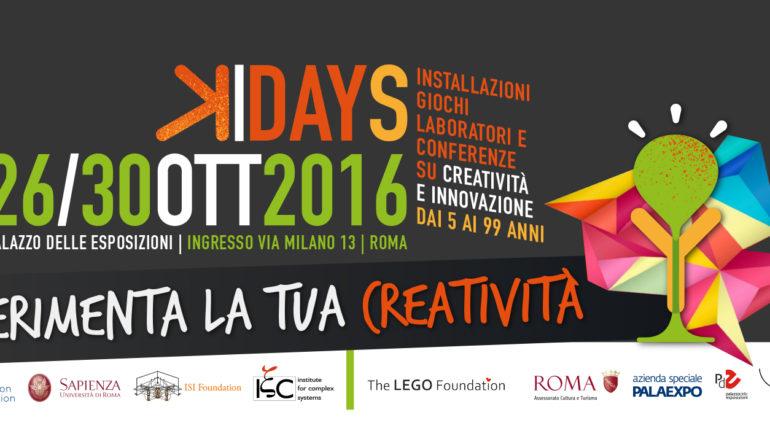 KreyonDays, evento gratuito di divulgazione scientifica interattiva al Palazzo delle Esposizioni