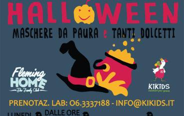 Scuole chiuse per Halloween laboratori per bimbi al Fleming Home