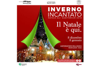 Inverno incantato il Natale 2016 all'Auditorium di Roma