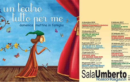 Un teatro tutto per me – spettacoli per bimbi da 0 a 4 anni – Sala Umberto Roma