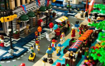 Lego City più grande città al mondo costruita con i Lego in mostra a Roma