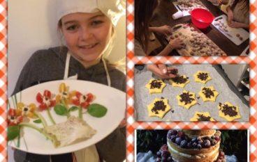 Cooking school party per bambini dai 3-6 anni e 6-12 anni a Prati