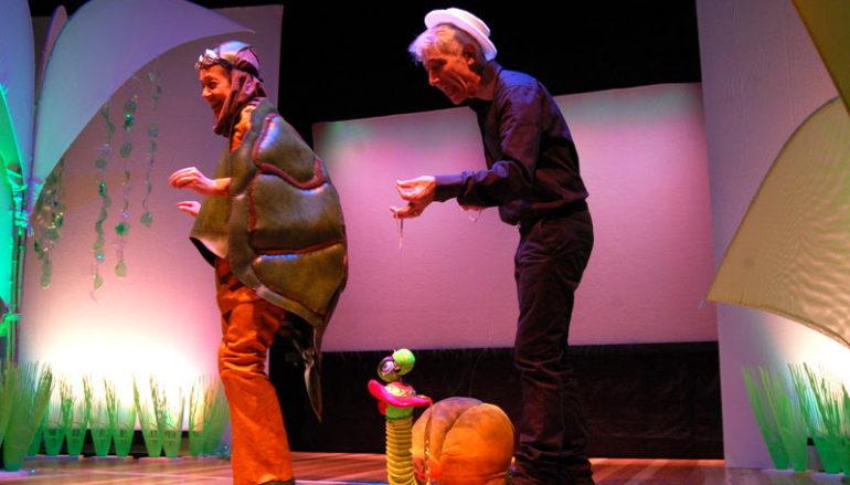 Il viaggio di tartaruga Tranquilla Piepesante Spettacolo dai 3 agli 8 anni al Centrale Preneste Teatro