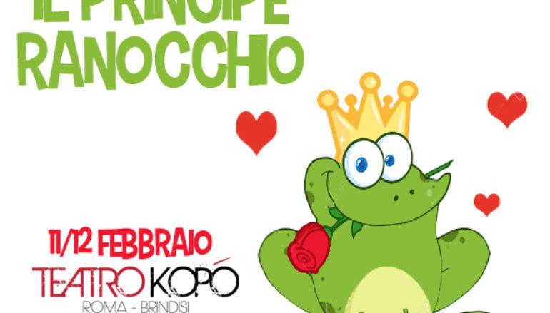 Il Principe Ranocchio Spettacolo per bambini dai 3 anni in zona Tuscolana