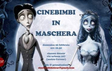 Cinebimbi in maschera al Cineclub Detour