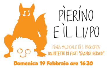 Pierino e il lupo, Fiaba Musicale con voce recitante, dai 3 anni al Nuovo Teatro San Paolo