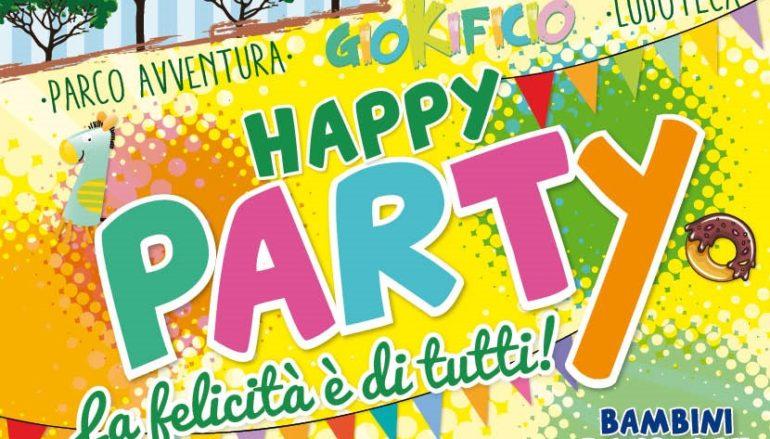 Happy Party un evento per celebrare la felicità con attività gratuite per tutti i bambini