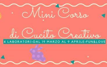 Mini corso di Cucito Creativo dai 6 agli 8 anni a Monteverde