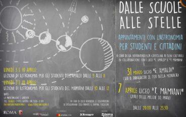 Dalle Scuole alle Stelle con il Planetario di Roma