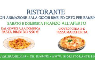 Bio Ristorante Pizzeria Family Friendly 100%