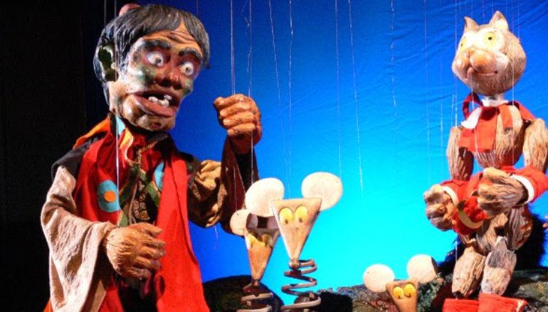 Il Teatro delle Marionette degli Accettella presenta: Il gatto con gli stivali, dai 4 ai 7 anni al Teatro Mongiovino