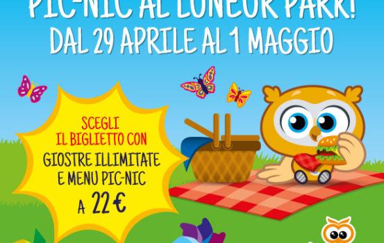Pic nic al Luneur Park, attività per bambini dai 0 ai 6 anni