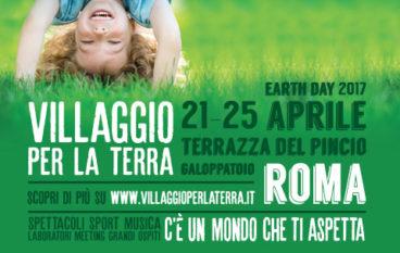 Garage Sale Kids promuove la lettura sostenibile al Villaggio per la Terra. Evento gratutio per tutti i bambini al Pincio