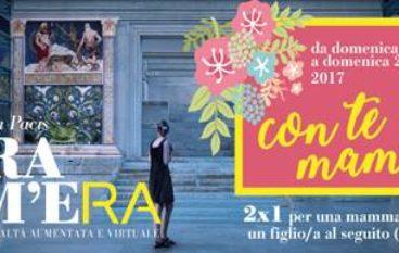 """""""L'Ara Com'era"""" Festeggia la Festa della Mamma con l'iniziativa """"Con te mamma"""""""