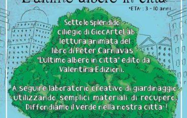 Lettura animata e Laboratorio di giardinaggio dai 3 ai 10 anni al GiocArteLab