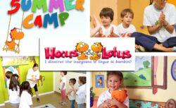 Summer Camp in lingua inglese con Hocus&Lotus
