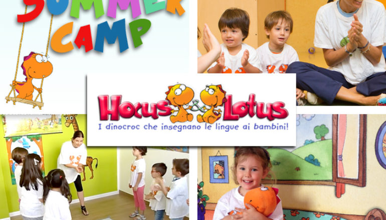 Summer Camp in lingua inglese con Hocus&Lotus