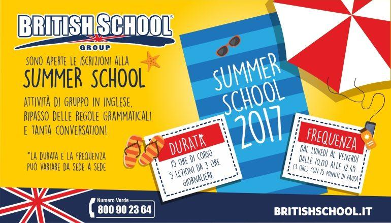 SUMMER SCHOOL ALLA BRITISH – CENTRI ESTIVI PER BAMBINI E RAGAZZI