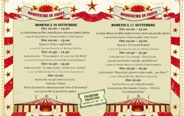 Festival Internazionale del Circo Sociale dai 4 ai 12 anni al Pigneto