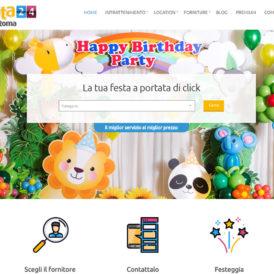 Festa24.it la start-up che ti aiuta ad organizzare il compleanno dei bambini